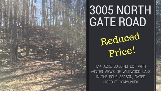 JUST REDUCED! 3005 North Gate Road: The Hideout