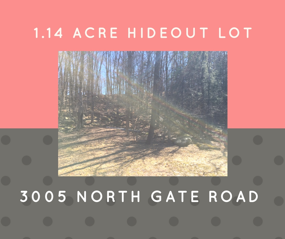 3004 North Gate Road: Hideout 1.14 Acre Building Lot