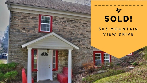 Sold! 303 Mountain View Drive