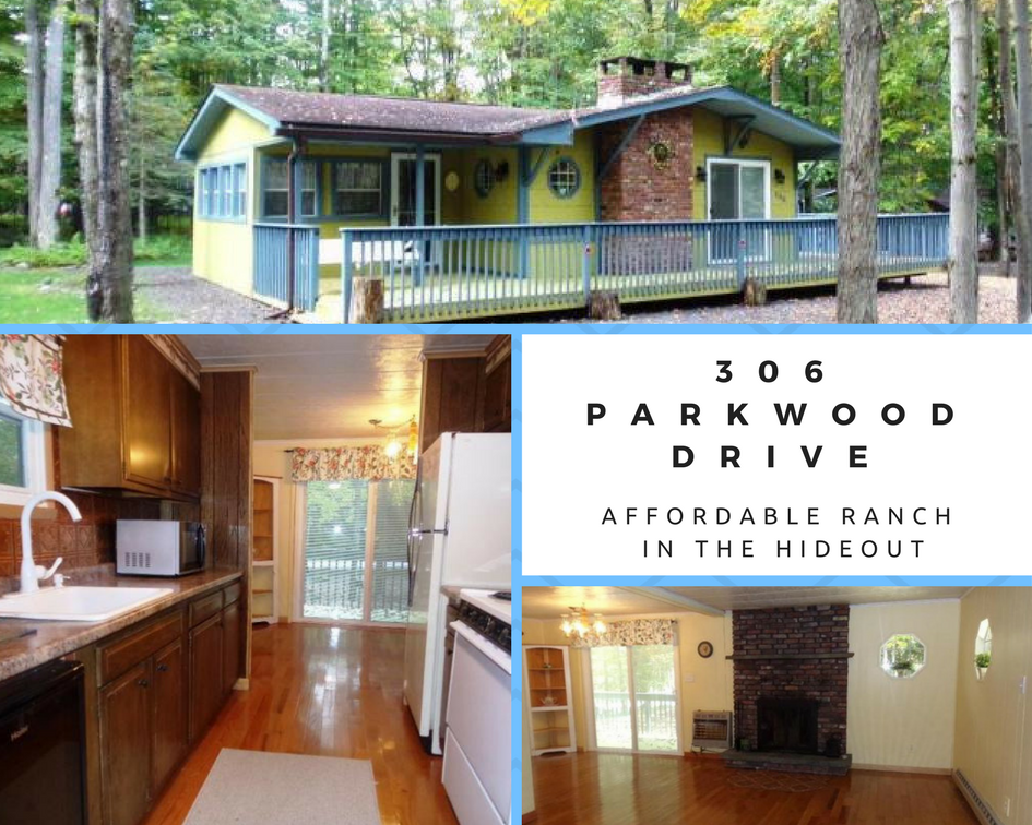 306 Parkwood Drive, Lake Ariel PA: Affordable Ranch in The Hideout