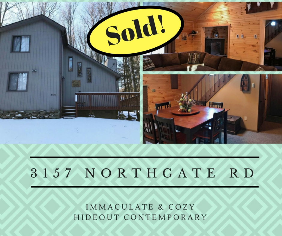 Sold! 3157 Northgate Road: The Hideout