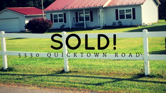 Sold! 3330 Quicktown Road: Madison Township