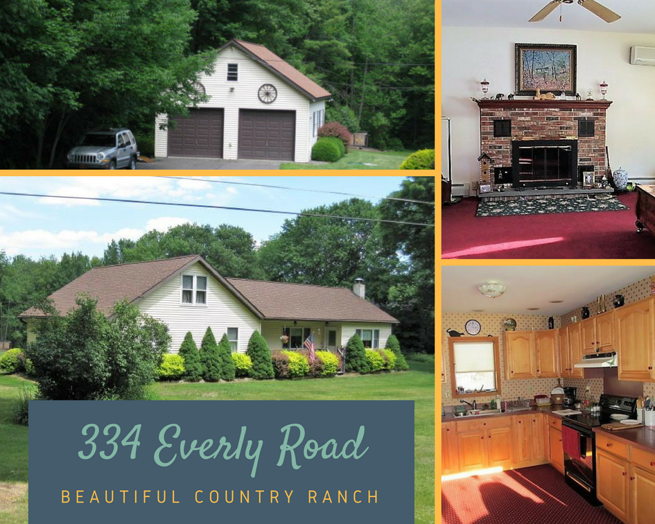 334 Everly Road: Beautiful Country Ranch