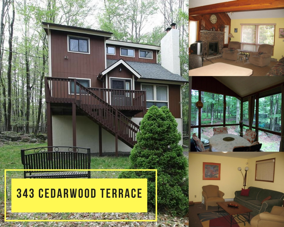 343 Cedarwood Terrace, Lake Ariel PA: Charming Contemporary in Hideout Community