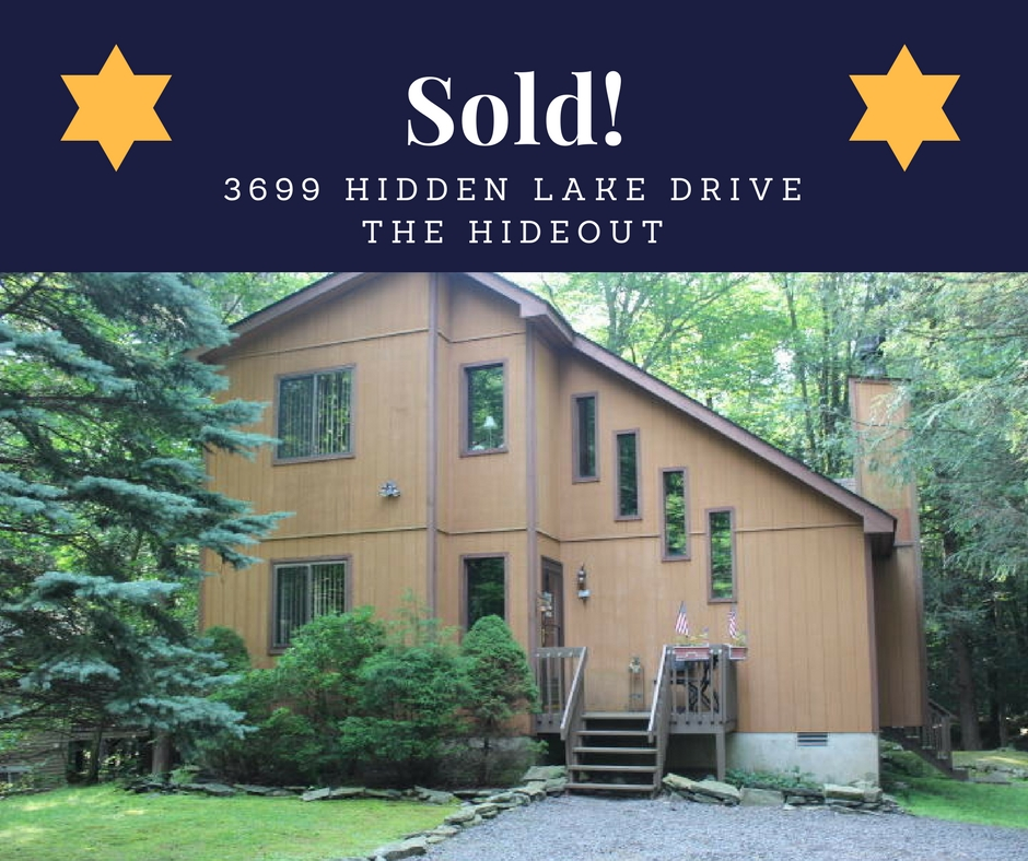SOLD! 3699 Hidden Lake Drive: The Hideout