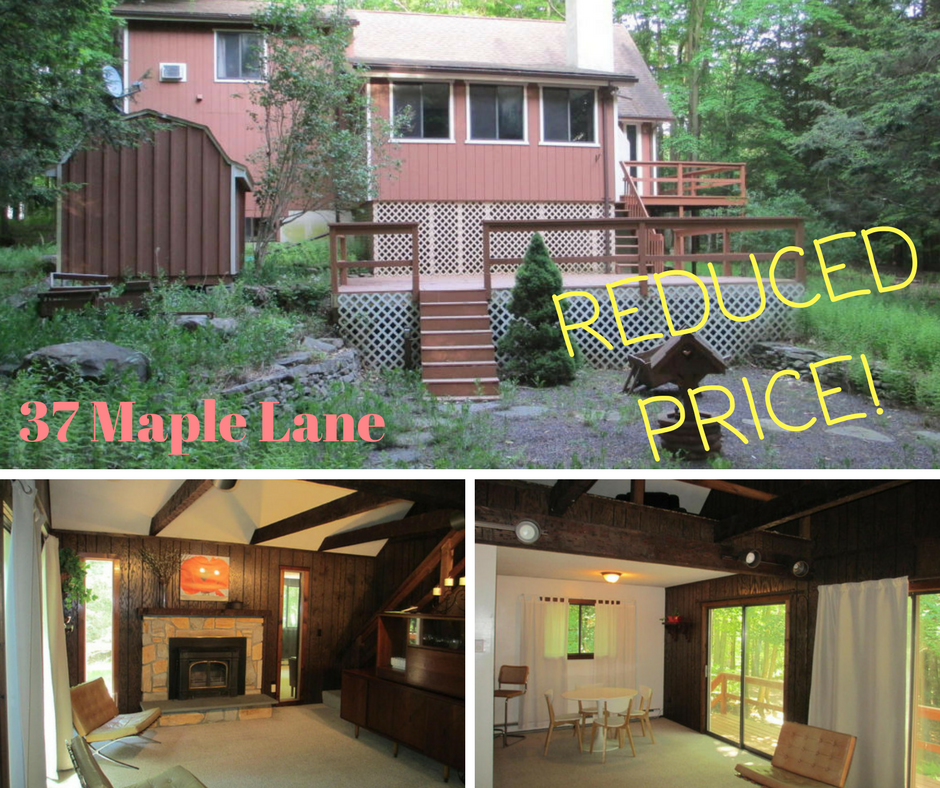 37 Maple Lane, Lake Ariel PA: Forest Glenn Custom Chalet