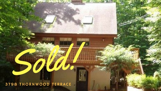Sold, Hideout 3798 Thornwood Terrace