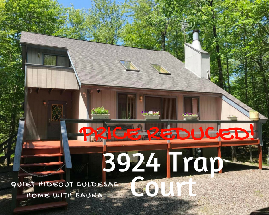 3924 Trap Court: Quiet Hideout Culdesac Home with Sauna