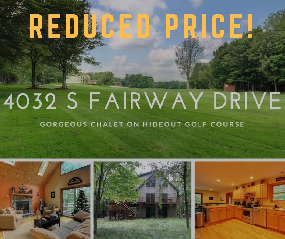 Just Reduced! 4032 South Fairway Drive: Chalet on Hideout Golf Course