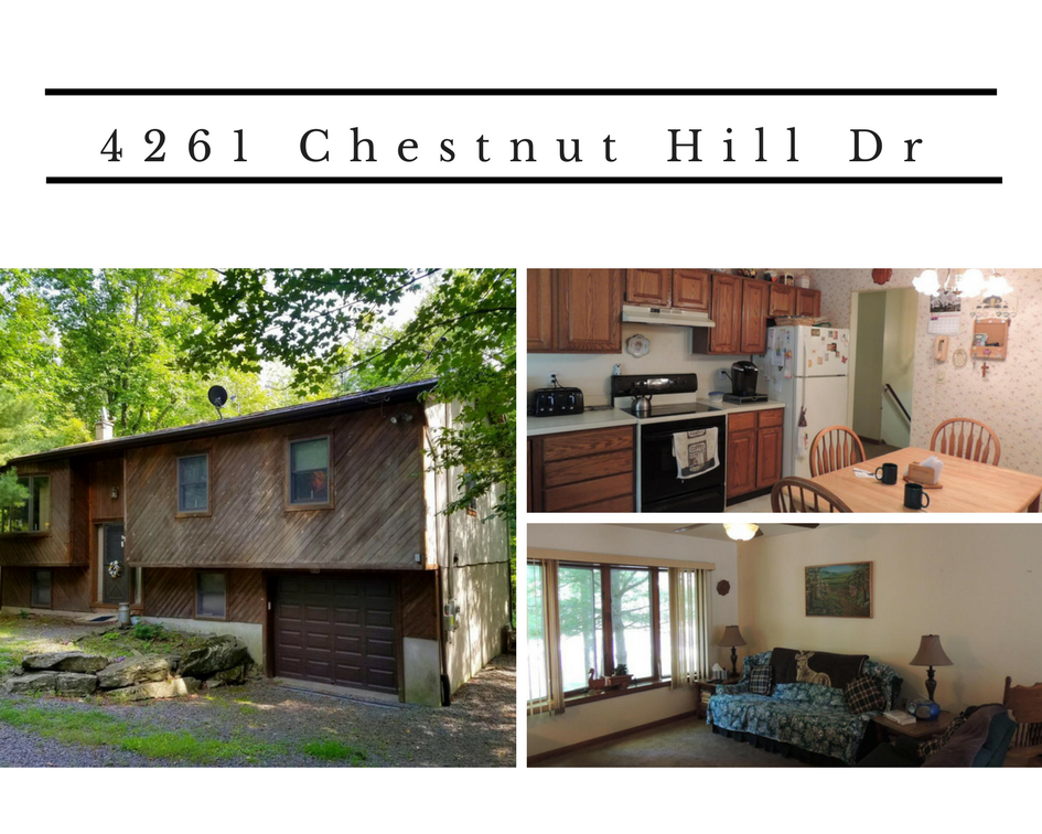 4261 Chestnut Hill Drive, Lake Ariel PA: Hideout Home with Traditional Floor Plan