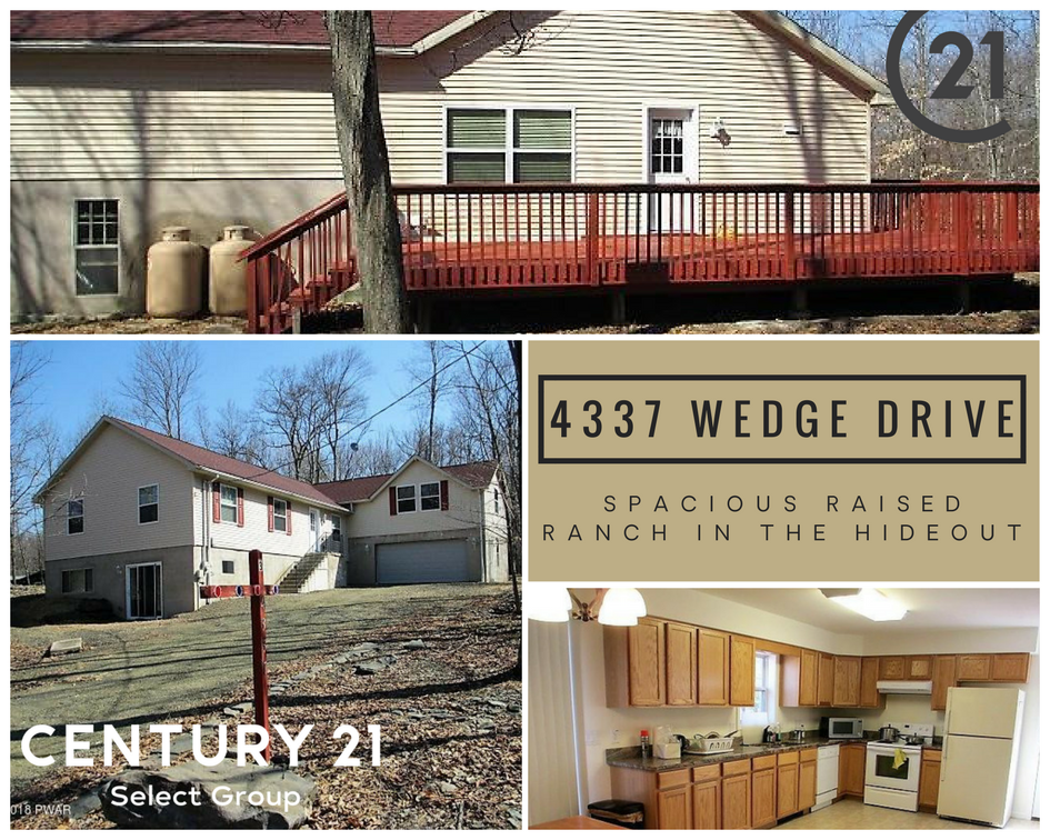 4337 Wedge Drive: Spacious Raised Ranch in The Hideout