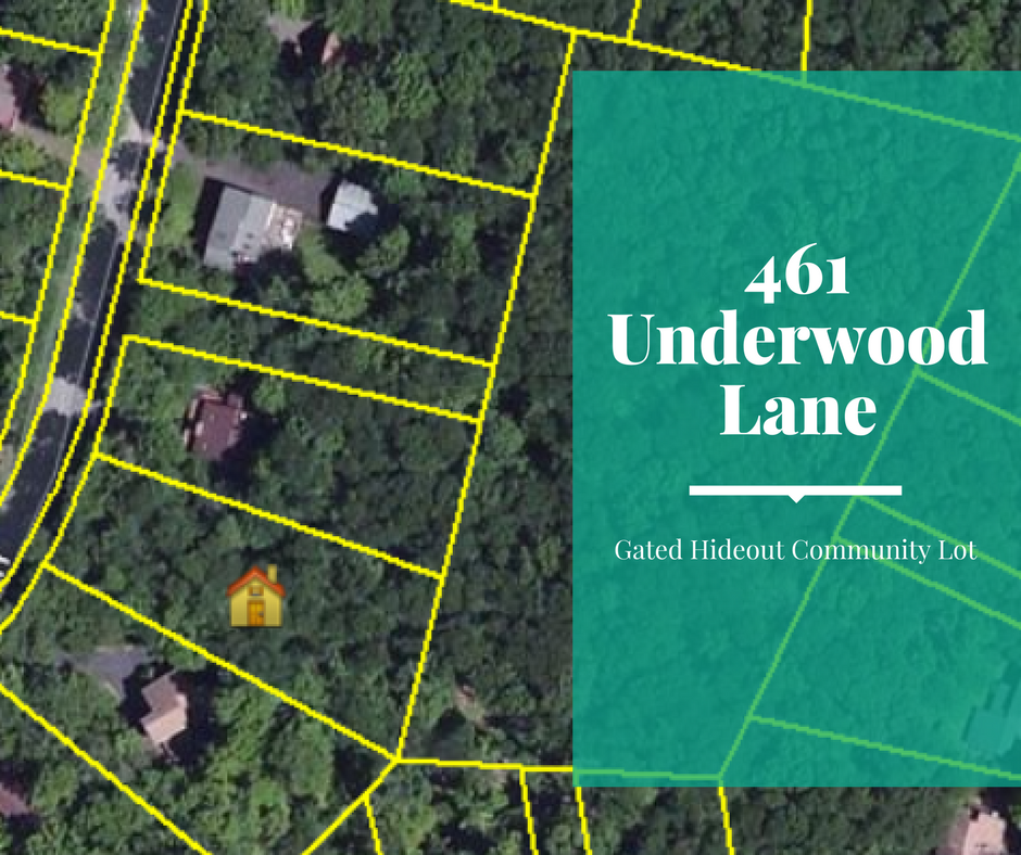 Price Reduced! 461 Underwood Lane: Gated Hideout Community Lot