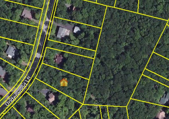 461 Underwood Lane, Lake Ariel: Gated Hideout Community Lot