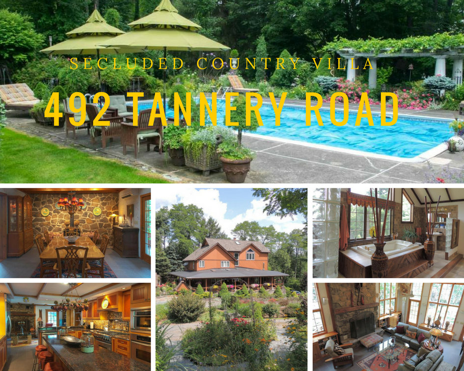 492 Tannery Road: Secluded Country Villa on 56 Acres!