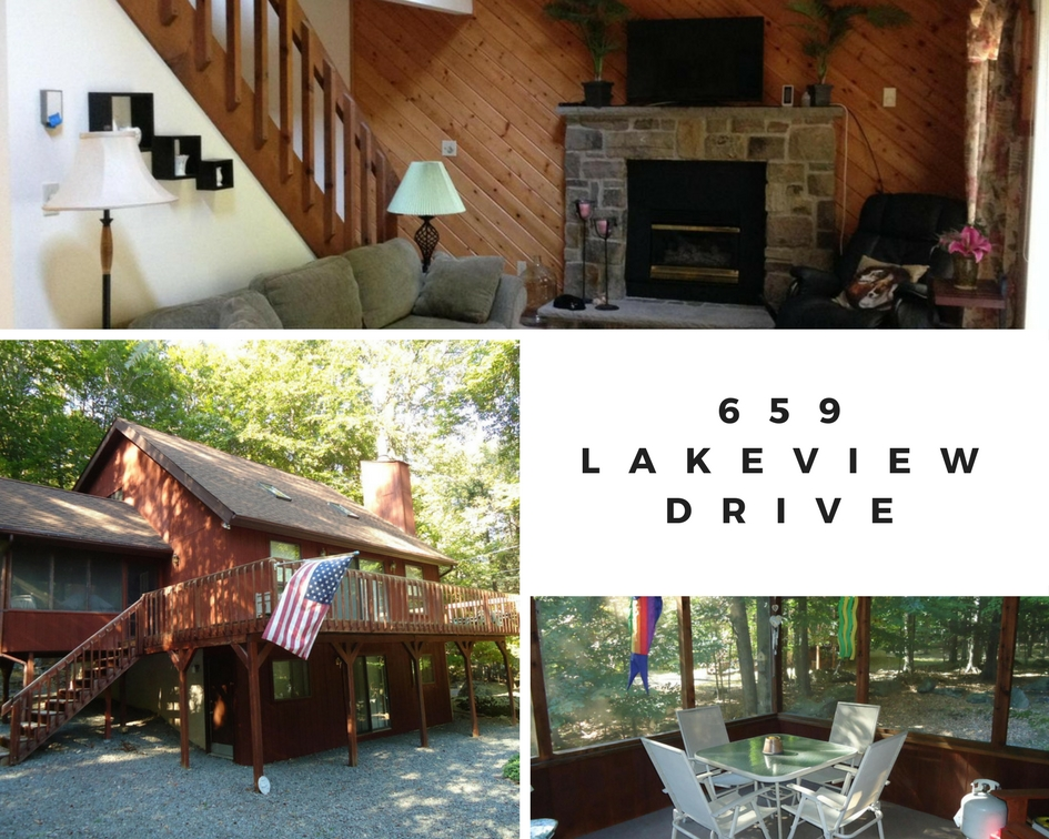 659 Lakeview Drive: Must See Hideout Chalet