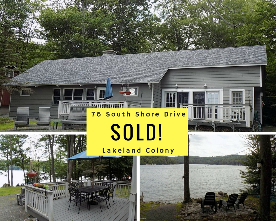 SOLD! 76 South Shore Drive: Lakeland Colony