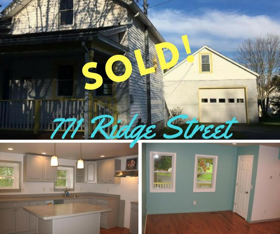 771 Ridge Sold