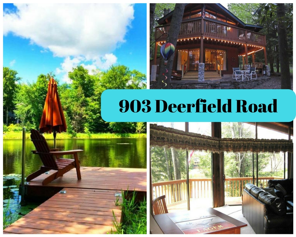 903 Deerfield Road: Gorgeous LAKEFRONT Hideout Community Chalet