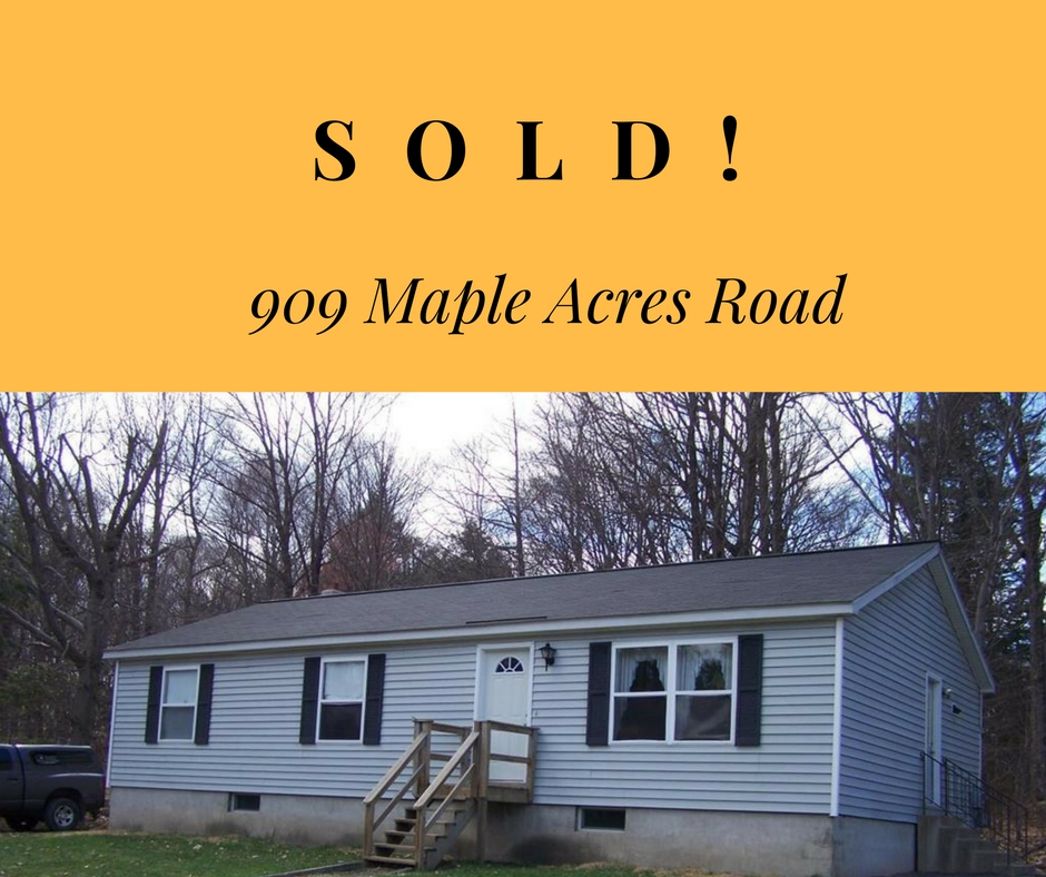 Sold! 909 Maple Acres Road