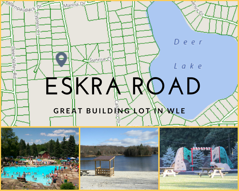 0 Eskra Road: Great Building Lot in Wallenpaupack Lake Estates