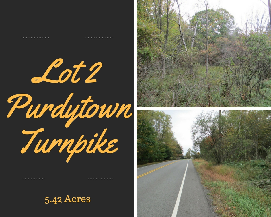 Lot 2 Purdytown Turnpike: 5.42 Acre Property For Sale