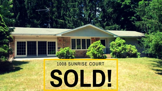 SOLD! 1008 Sunrise Court