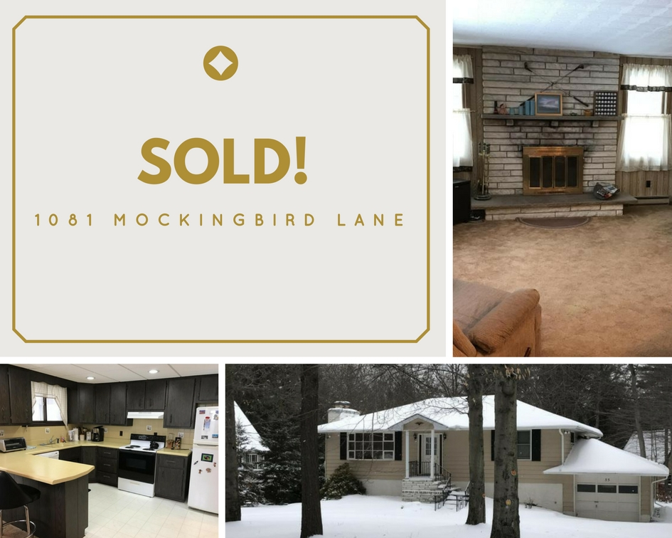 SOLD! 1081 Mockingbird Lane, Wallenpaupack Lake Estates