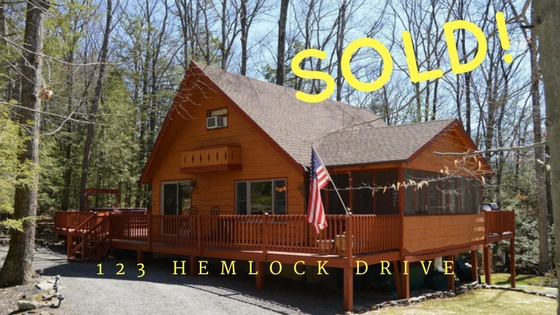 Sold! 123 Hemlock Drive, Sandy Shore