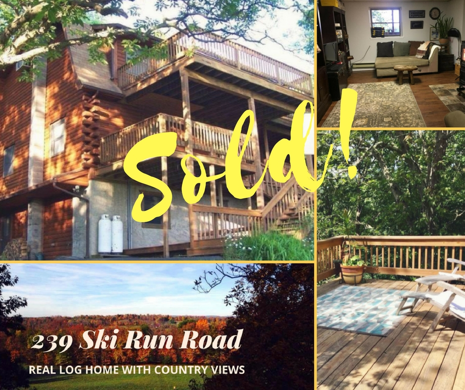 Sold! 239 Ski Run Road: Honesdale