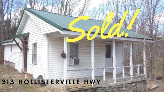 Sold! 313 Hollisterville Highway