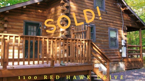 Sold! 1100 Red Hawk Drive: Wallenpaupack Lake Estates