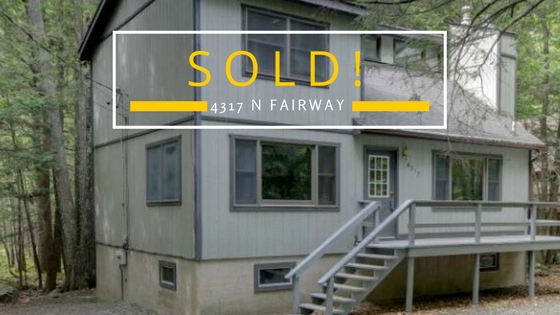 Sold! 4317 North Fairway Drive: The Hideout