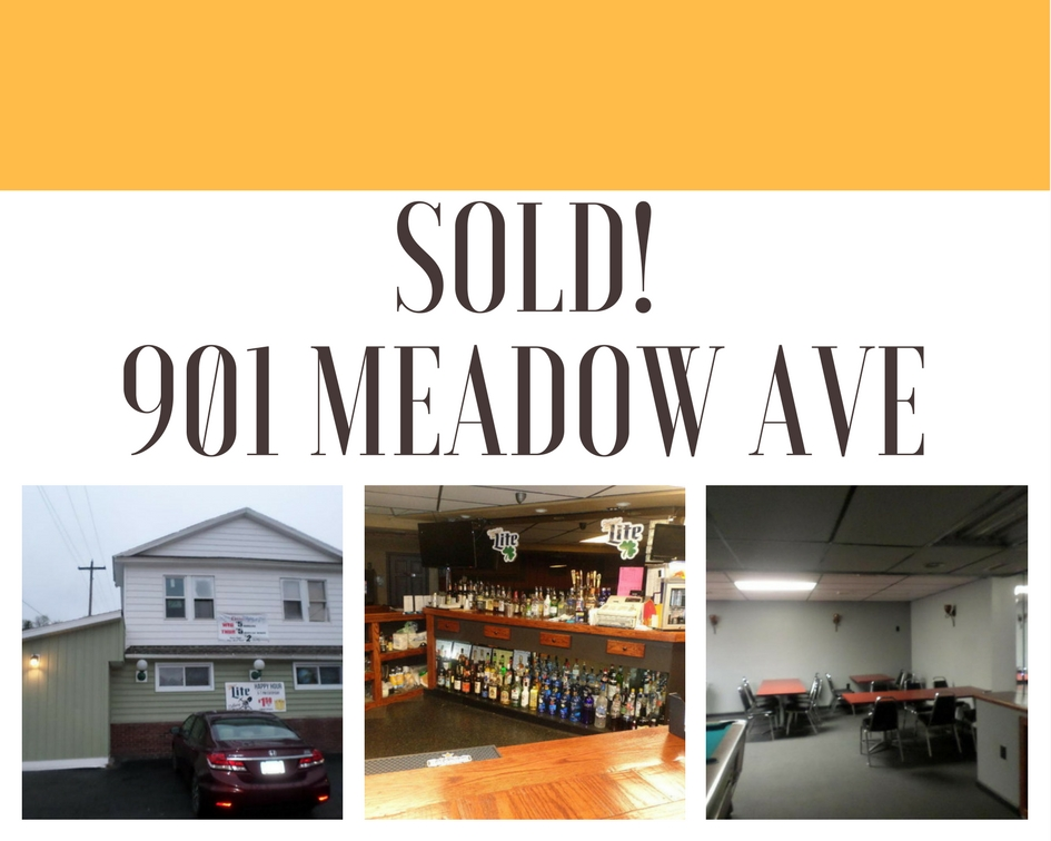 Sold! 901 Meadow Ave: Turnkey Scranton Bar and Restaurant