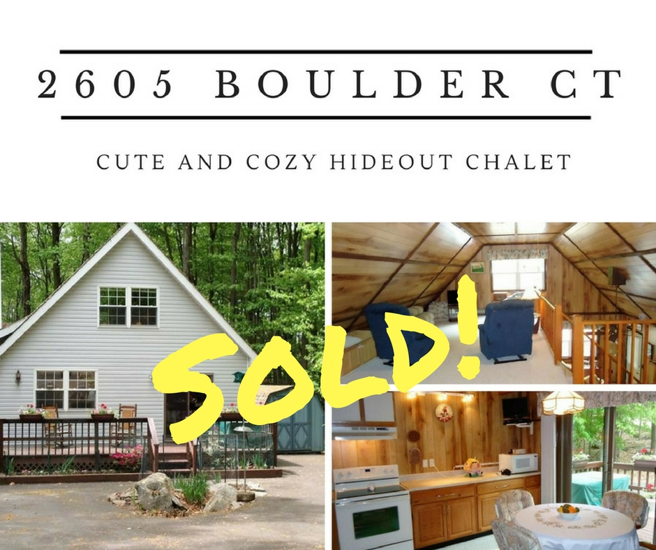 Sold! 2605 Boulder Court; The Hideout