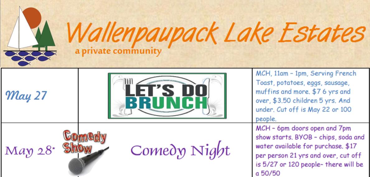 Wallenpaupack Lake Estates May 27th & 28th Fun!