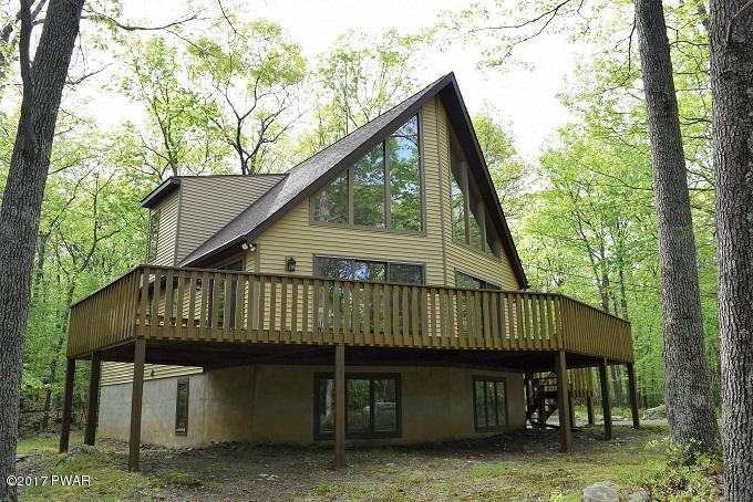 Recently Reduced !!! HIDDEN LAKE ESTATES CHALET !!! Move-In-Ready!!! 2,336 Finished Sq/Ft, 3 Beds, 3 Baths on 2.61 Acres.Very private but 1/2 mile to Lake Wallenpaupack and Shopping! Come take a Look at Ben Katz Recently Reduced Listing !!
