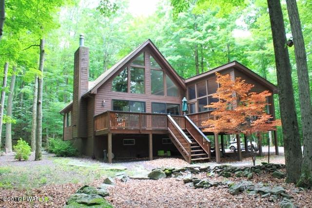 NEW LISTING!! CHARMING LAKE WALLENPAUPACK SEASONAL CABIN -- You'll fall in love with this classic three-season getaway cabin located a stone's throw from the shores of Lake Walllenpaupack and close to everything else that the Pocono Lake Region has to off