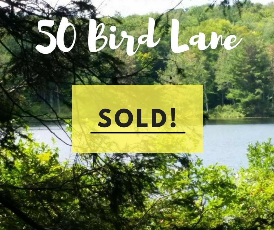 Sold! 50 Bird Lane: Cobb's Lake Preserve