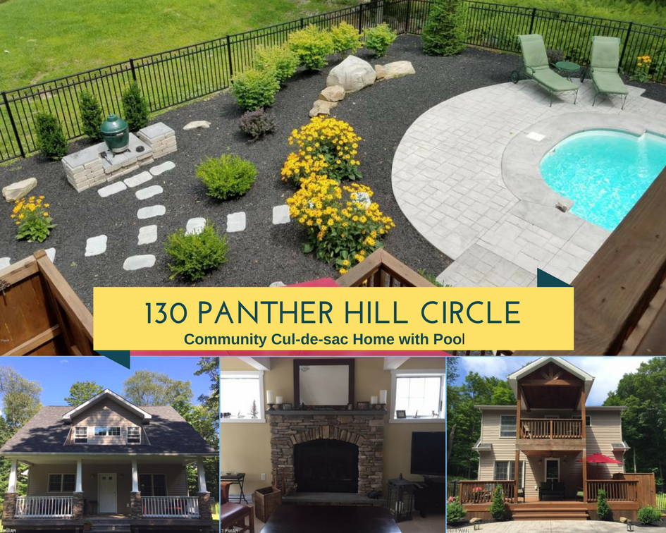 130 Panther Hill Circle, Newfoundland PA: Community Cul-de-sac Home with Pool