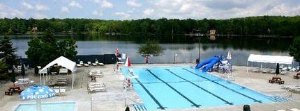 Pocono Springs Clubhouse Pool