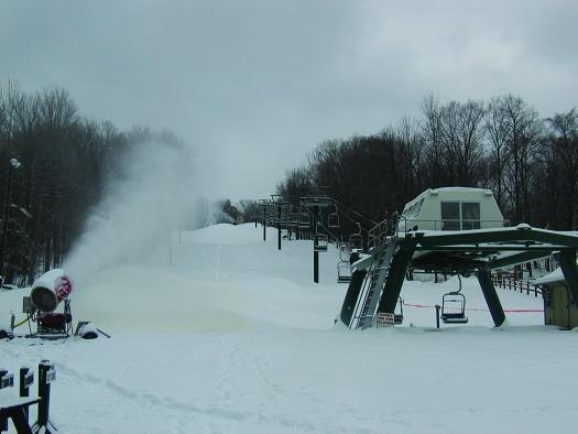 The Hideout Ski Hill
