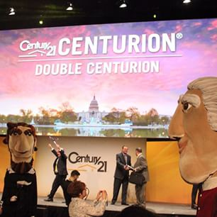 Inspired and Proud to be an American -Century 21 Global Conference