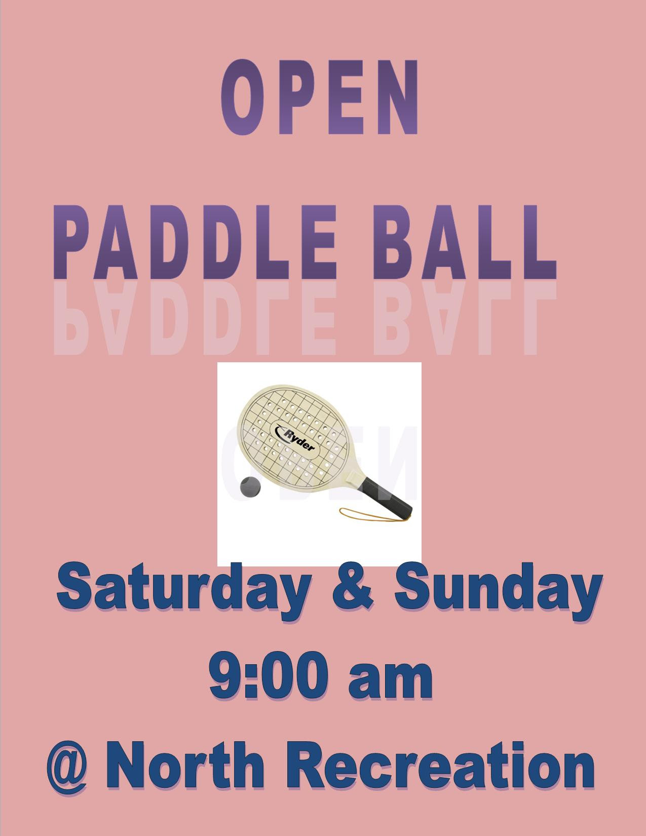 Hideout Paddle Ball