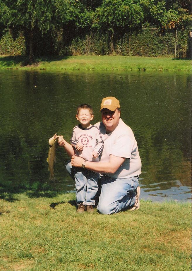 Neal Van Hine - Blakeslee and grandson Tyler