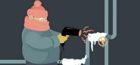 unfreeze pipes