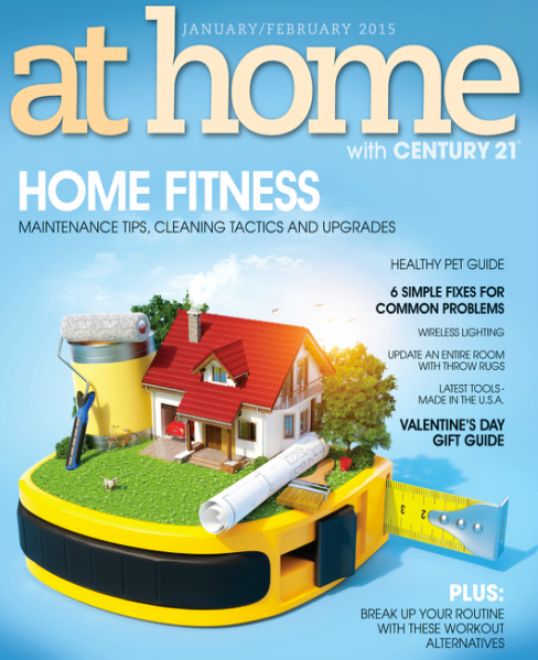 at home with Century 21 Jan/ Feb 2015 Magazine
