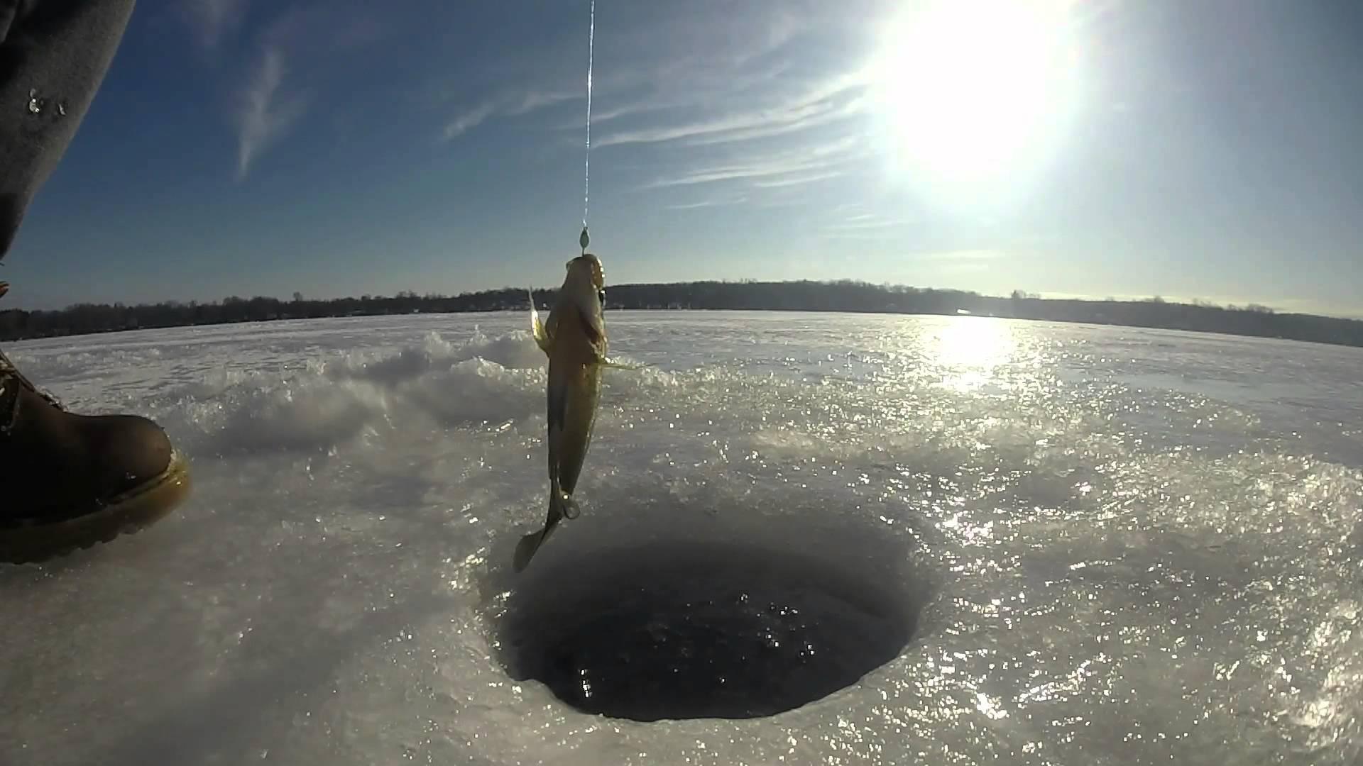 Ice Fishing on Conesus Lake