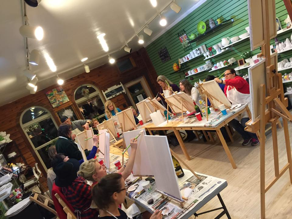 Gaining art skills through a variety of fun venues