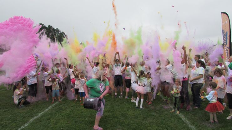 Join in on the fun - Color Dash 2015
