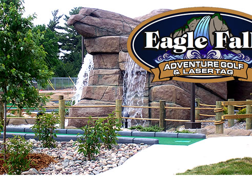 Miniature golf - small in size - big on fun!